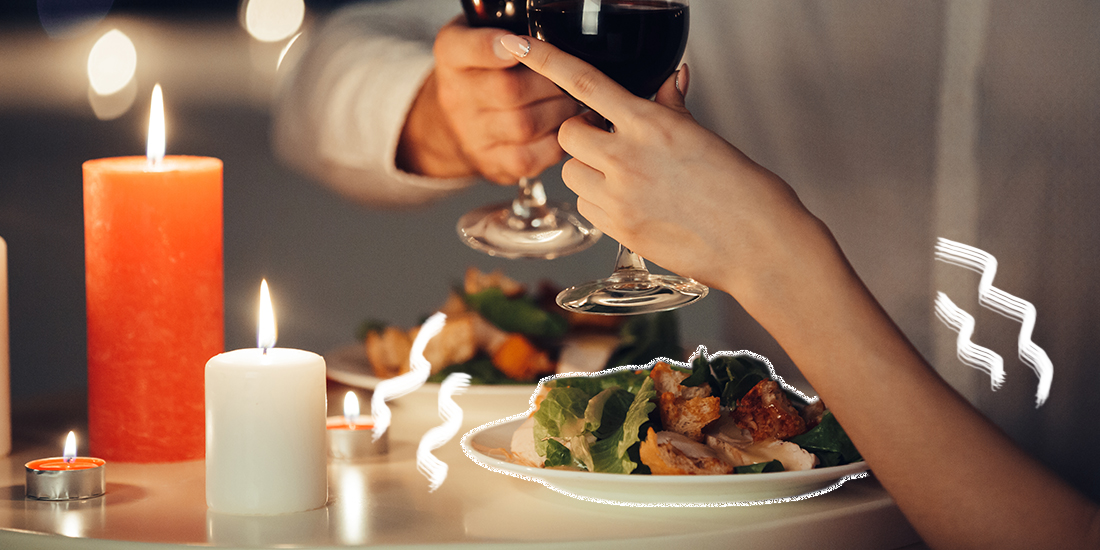 MAKE A DELICIOUS DINNER FOR DATE NIGHT